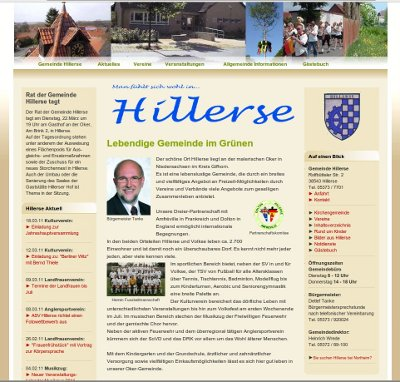 hillerse homepage